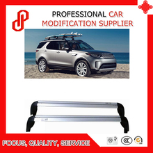 High quality 1 Pair screw install Aluminium roof rack rail cross bar for Discovery 5 2017 2018