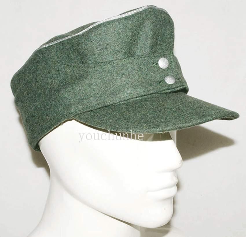 WWII WW2 GERMAN ARMY WH EM M43 FIELD HAT MILITARY BADGE METAL PIN