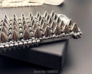 Image 3 - Kühle Metall 3D Schädel Skelett Punk Bling Fällen für Samsung galaxy S9 S10 S20 Plus S10e Hinweis 10 Lite 10 + 20 Ultra 9 Kristall Fundas