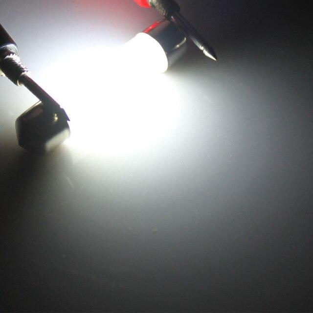 Dôme de décoration LED 31mm 36mm 39mm 41mm c5w 212-2 6418 blanc froid lecture plaque d'immatriculation lampe lumière LED ampoule couverture laiteuse ampoules 12V 5