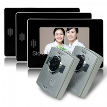 2V3 7 pulgadas TFT LCD Monitor 1/3 CMOS de visión nocturna cámara Video de la puerta sistema de teléfono