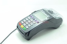 95% New VeriFone Vx520 LC, ABB DIAL, 128/32MB, STD KEYBOARD BLK POS Terminals