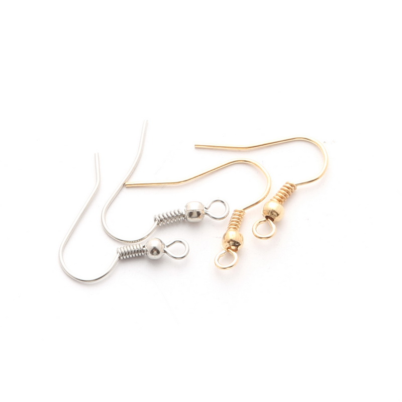 200pcs Metal Earring Hooks 20x22mm Ear Hooks For Jewelry Earrings Findings And Components Diy Accessories