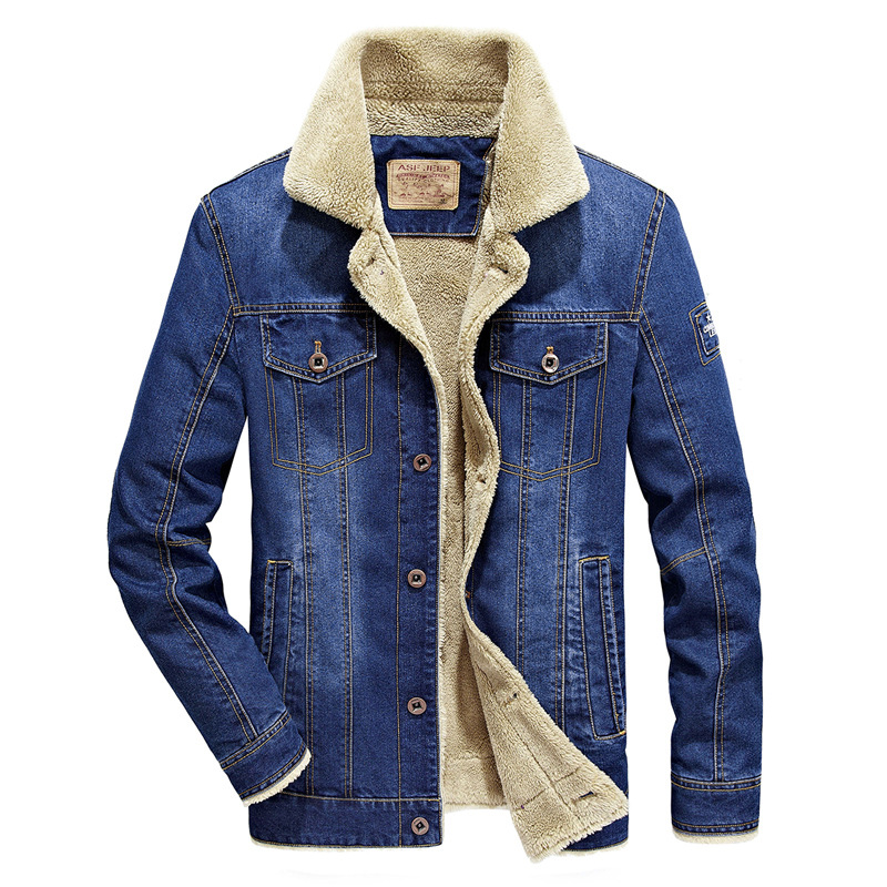 Qualité Fourrure Chaud Cowboy Drop Veste Jeans Vêtements Outwear qP1tn 6bd4badbf73