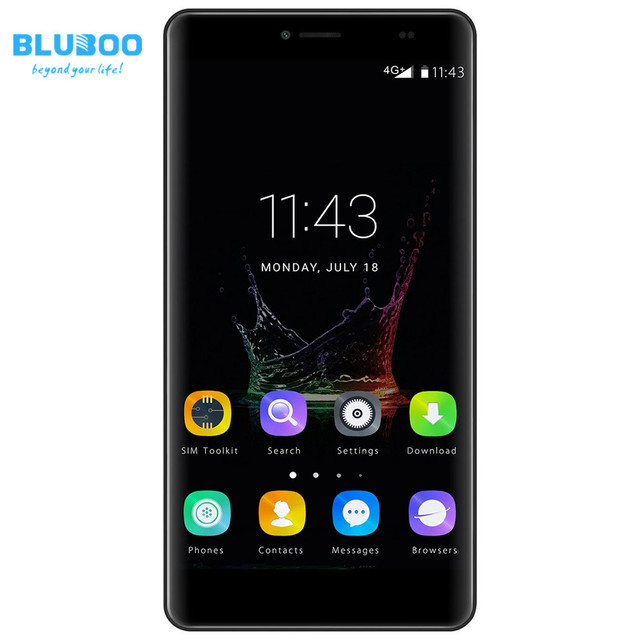 "BLUBOO Maya Max 6.0"" 4G Smartphone Android 6.0 3GB RAM 32GB ROM Octa Core 64bit 4200mAh MTK6750 Fingerprint 13.0MP Mobile Phone"