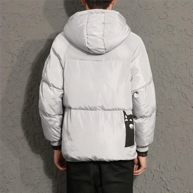 Black D'hiver Garder 2017 Chaud Coton Coupe Vestes Mâle À Marque Outwear Zip gray Manteaux Casual Veste Hommes Au Épaississent vent Manteau Capuchon 04wRq0S