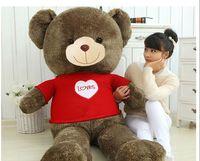 Мягкая игрушка Огромный 160 см одеты ткани мишки плюшевые игрушки любит Медведь кукла мягкие Hug pillowm подарок 0451