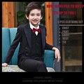 Trajes de los niños Para Las Bodas 95 CM-165 CM Niños de Baile Trajes Ropa para Niños Los Niños Que Arropan los Muchachos de La Boda Tuexdo Niños Vestidos