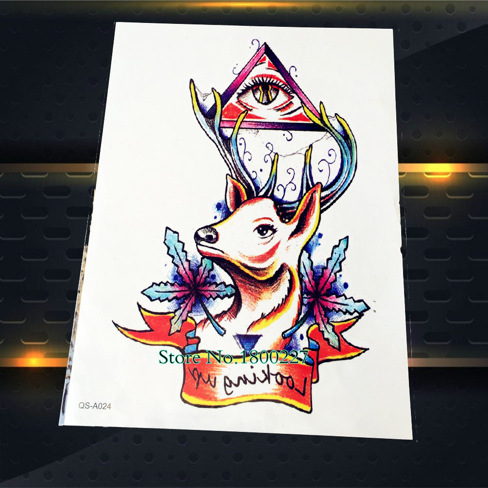 Online buy wholesale deer eyes from china deer eyes for Eye of horus temporary tattoo