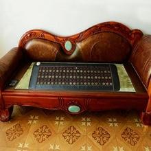 Free Shipping for Jade Heated Cushion Sofa Cushion Jade Health Care Cushion Germanium Stone Sofa Cushion Heat Seat Pad For Sale