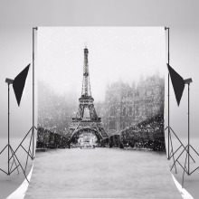 Paris Scenic Photography Background Vinyl Backdrops For Photography Fond Photographie Children Backgrounds For Photo Studio цена