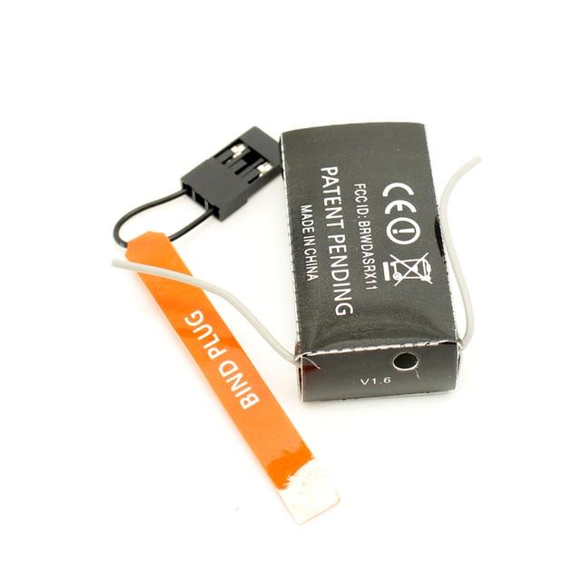 AR6100E RC receptor 2,4 GHz 6ch 6 channal JR DX6i DX7 DX8 dsm2 RC avión