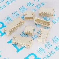 Leżąc wysłany ZH1.5mm skok 1.5 złącze 2 P/3 P/4 P/5 P/6 P /8 P pozioma outlet patch w Złącza od Lampy i oświetlenie na