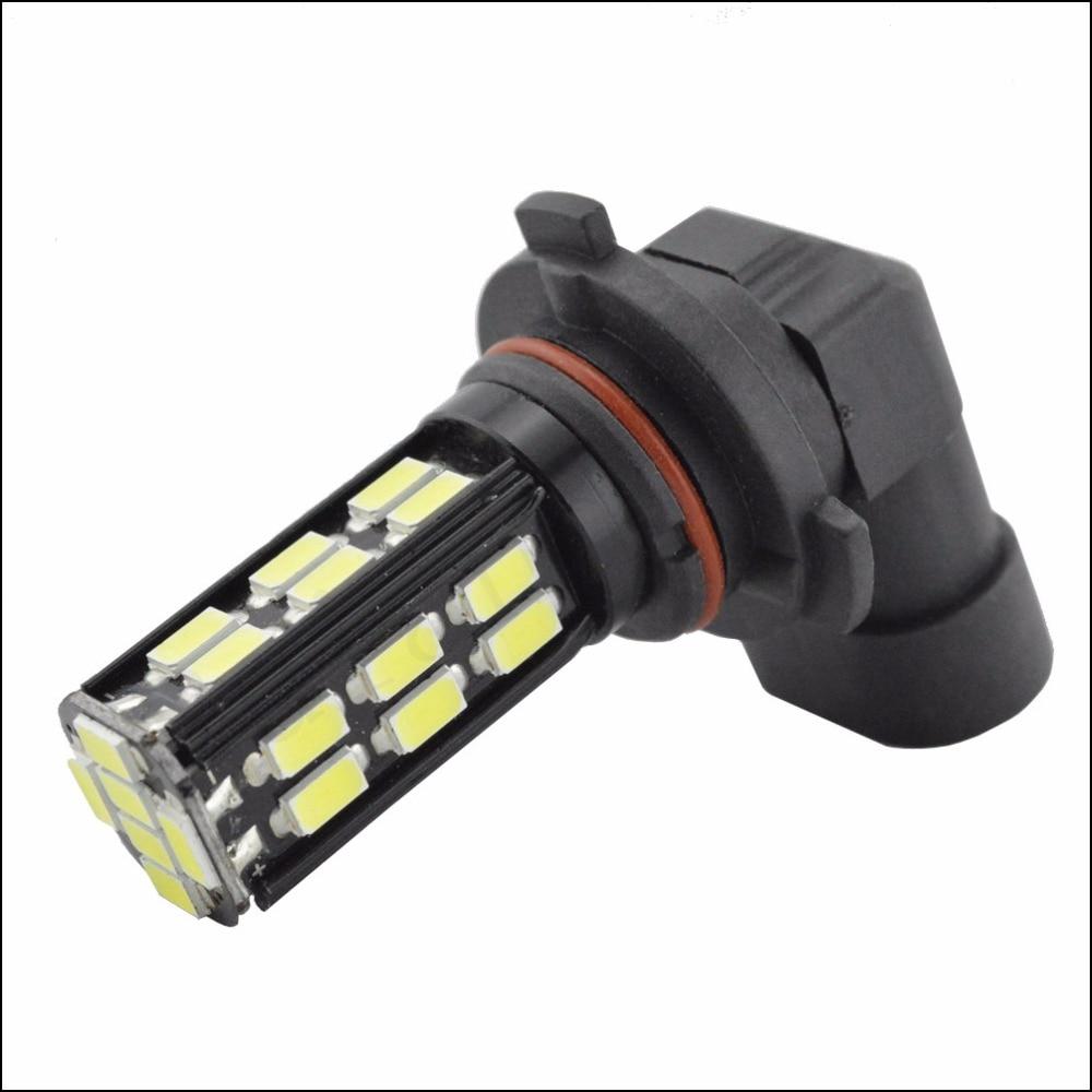 1pcs AC12V 24V Super Strong HB3/9005 9006/HB4 LED High Power 5.4W 28SMD 5730 Car Fog Bulb White