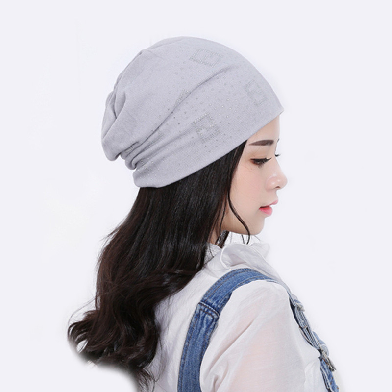 9cc16e2c779 Girl Hats Deportes Beanies Autumn Winter Chinese Characters Women Beanies  Windproof Caps Diamond Female Bonnet Pattern Warm M079-in Skullies   Beanies  from ...