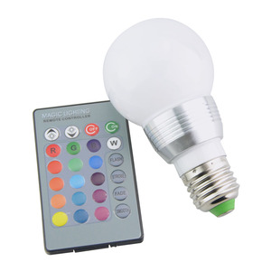 Image 3 - E27 E14 LED 16 Color Changing RGB Magic Light Bulb Lamp 85 265V 110V 120V 220V RGB Led Light Spotlight + IR Remote Control