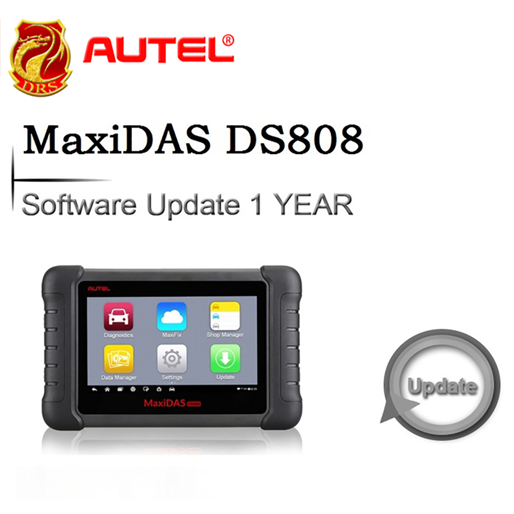 Software 1 Year Update for Autel MaxiDAS DS808 OBDII Automotive Diagnostic Tool