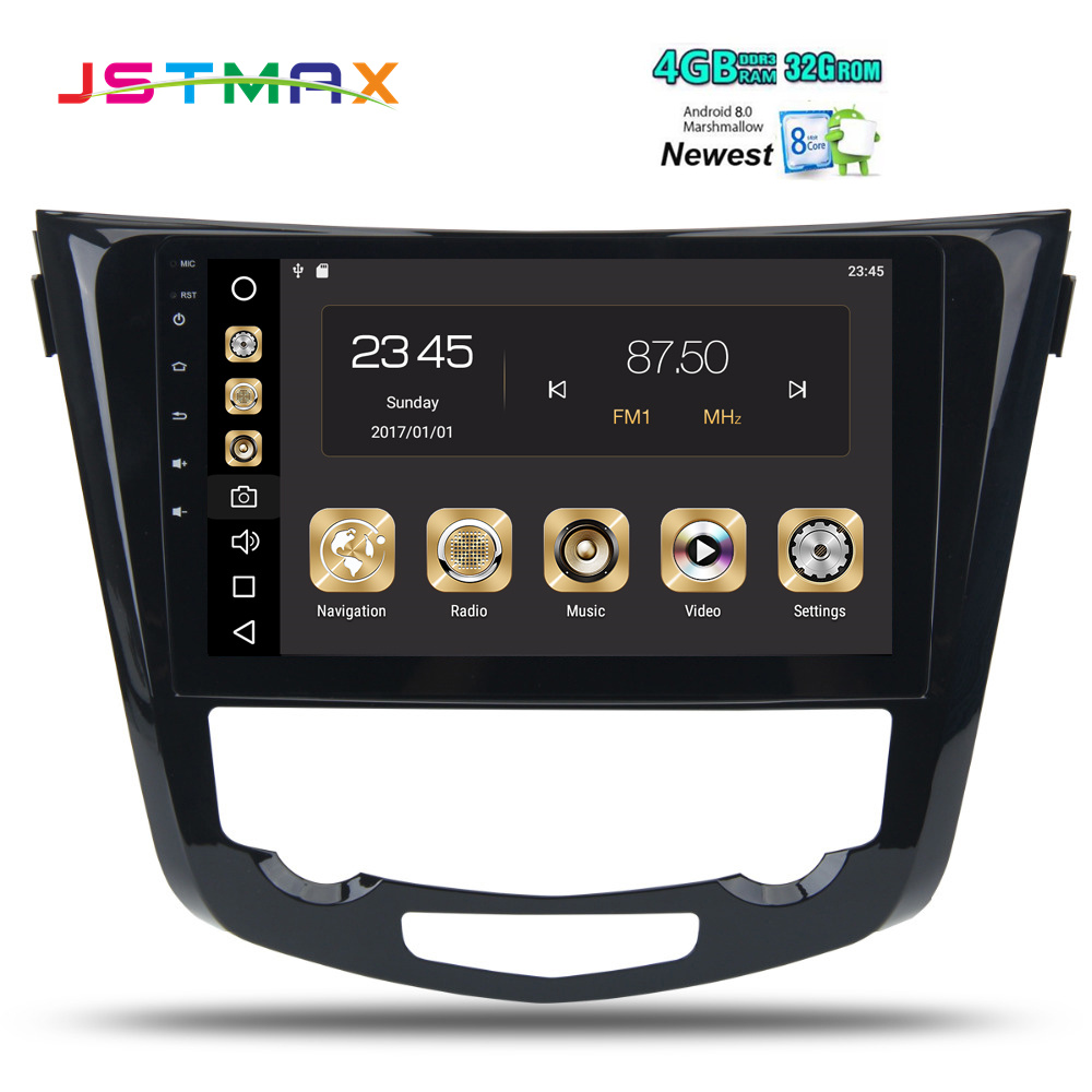 102 Android 80 Car Gps Radio Player For Nissan X Trail 2014 2015 Automobile Interior Lights Fader 2016 2017 With Octa Core 4gb 32gb Stereo Multimedia In From