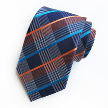 18 Styles New Fashion Man Colorful Tie Cotton Formal Ties for Men Necktie Narrow Slim Skinny Cravate Thick Plaid Neckties Gifts