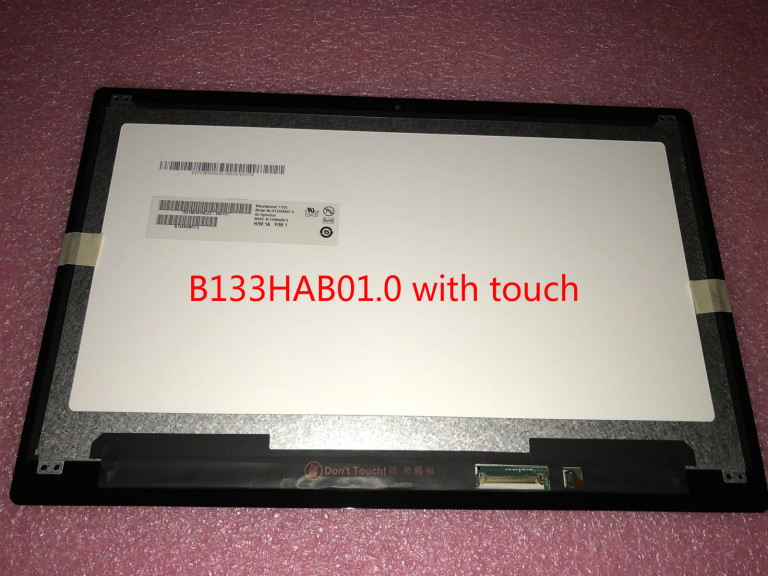 NEW For Acer Spin 5 SP513-51 LCD Screen+Touch Digitizer Assembly FHD B133HAB01.0 WITH TOUCH IPS matrix цена