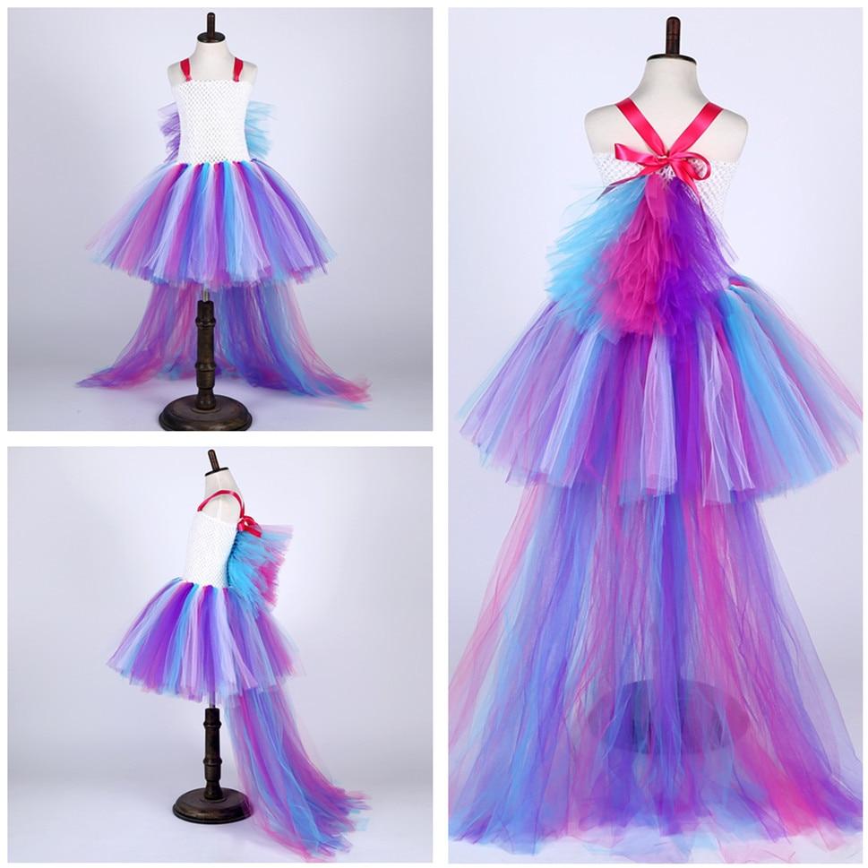 Increíble Vestido De Fiesta De Arco Iris Colección - Ideas de ...