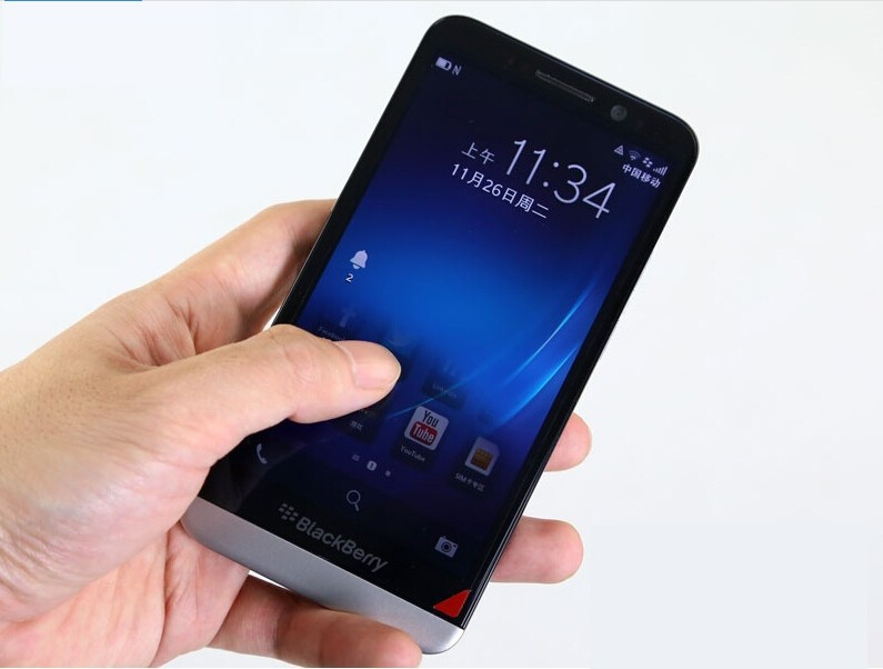 Original BlackBerry Z30 Mobile Phone 8.0MP Camera 5.0inch Touchscreen 16GB ROM 3G/4G smartsphone black 6