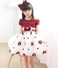 Summer 2016 New Girl Dress Baby Princess TuTu Dresses Flower Girls Dresses For Party And Wedding Kids Clothes ropa de ninas