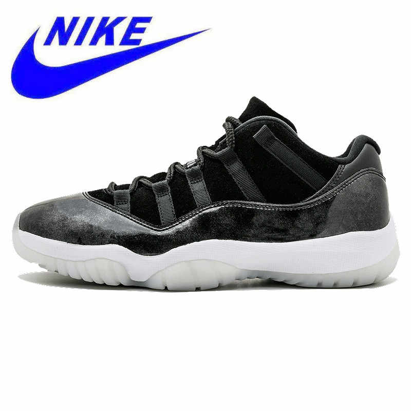 more photos 8ebc8 2a3be Nike Air Jordan 11 zapatos Retro bajos de baloncesto para hombre, gris  oscuro, antideslizante