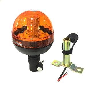 Image 4 - Mới 40 LED Chất Lượng Cao Cấp Cứu Cảnh Báo Đèn LED Nhấp Nháy Xoay Đèn Hiệu Máy Kéo Ánh Sáng Siêu Sáng Tuổi Thọ Động Cơ Hổ Phách #295477