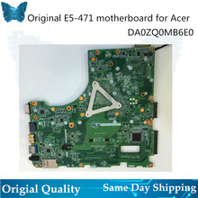 Logicboard for Acer aspire E5-471G V3-472P motherboard I5-4210U 5200U CPU with GT820 GPU mainboard DA0ZQ0MB6E0