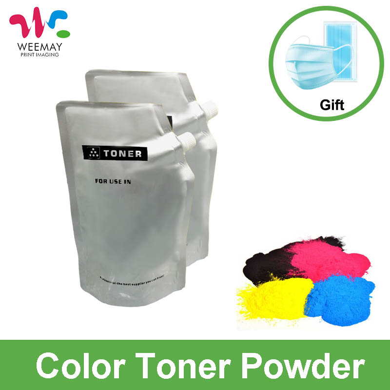 500g/bag Color toner powder compatible for HP laser printer M252 M277 M553 toner powder compatible for ricoh aficio mpc2030 2050 2530 2550 color toner