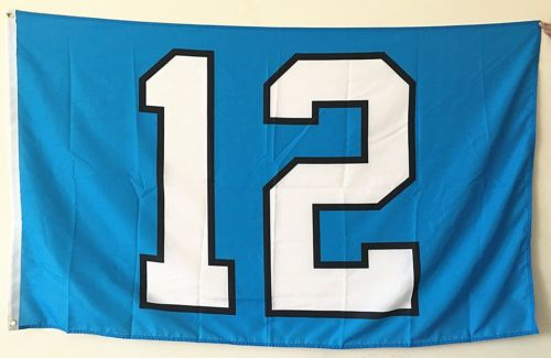 new product 50aaa 67a8e Seattle Seahawks 12th Man Large Outdoor Flag Banner metal ...