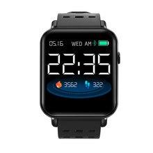 Y6 pro smartwatch bluetooth 24 horas de freqüência cardíaca pressão arterial detector oxigênio relógio android feminino à prova dpk água relógio inteligente pk p68