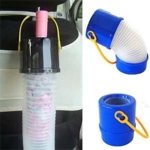 Water proof telescopic umbrella barrel of automobile umbrella storage barrel hanging umbrella type umbrella bag