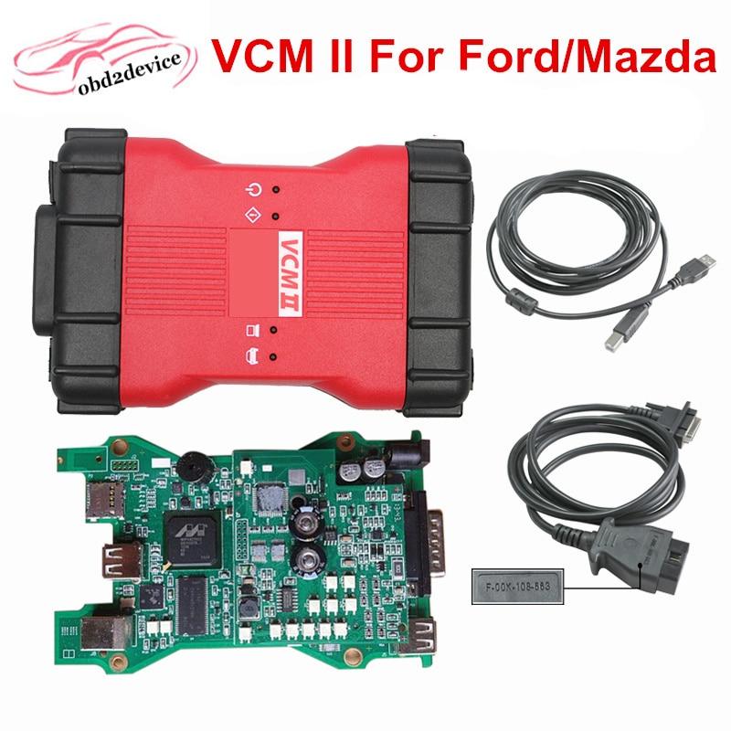 2017 For Mazda Ford VCMII IDS V101 Full Chip Obd2 Car Code Scanner VCM2 Support Multi