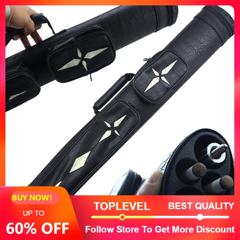 2019 New Pool Cue Case High Quality Billiards Pool Cue Cases 4 Holes 82cm Length 4
