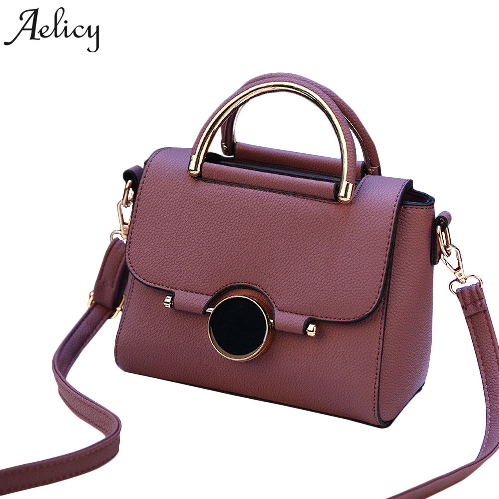 Aelicy Pu Leather Women Leather Handbag Famous Brand Women Messenger Bag for Girls Shoulder Bag shoulder bags for women 2017Aelicy Pu Leather Women Leather Handbag Famous Brand Women Messenger Bag for Girls Shoulder Bag shoulder bags for women 2017