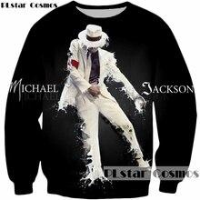 PLstar Cosmos Brand clothing Men/Women's 3d Sweatshirts print Pop king Michael Jackson Pullovers 2018 new fashion casual hoodies