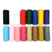 16 цветов Высокое качество полиэстер швейная нить для джинсы пальто шляпа Швейные аксессуары