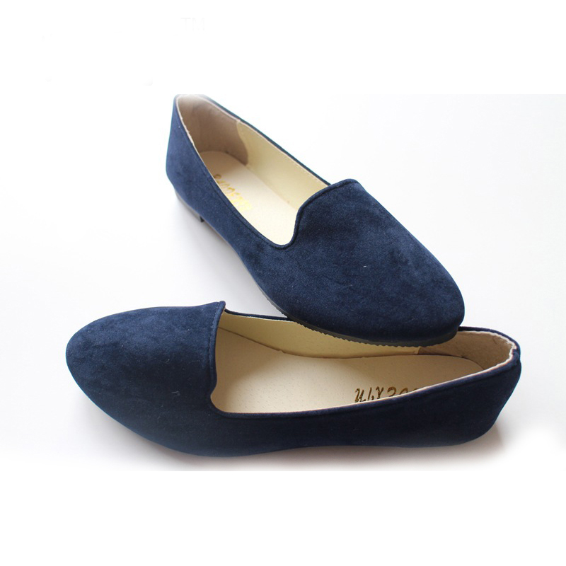With Box Ladies Shoes Ballet Flats Women Flat Shoes Woman Black Large Size 41 Casual Shoe Sapato Womens Loafers Zapatos Mujer ballet shoes