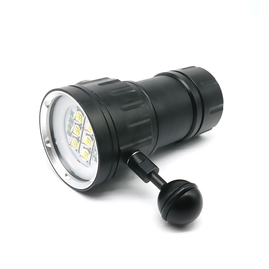 Image 3 - LED Diving Flashlight XHP70 / 90 LED  Photography Video Light Underwater 100m Waterproof Camera Tactical Torch Lamp-in LED Flashlights from Lights & Lighting