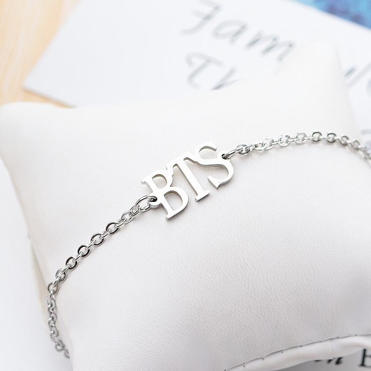Bracelets & Bangles Chain & Link Bracelets Methodical Kpop Bts Bangtan Boys Army Name Letter Stainless Steel Bracelet Bangle Adjustable Bracelets For Jewelry Party Gifts Fine Workmanship