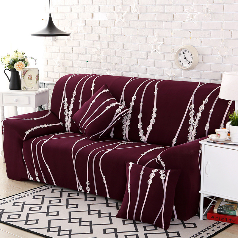 New Slipcover Stretch Sofa Cover Sofa With Loveseat Chair: New Arrival Sofa Cover Towel Slipcover Elasticity Stretch