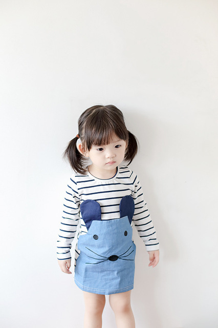 Girls Dresses With Long Sleeves, Ages 2 To 6 Years