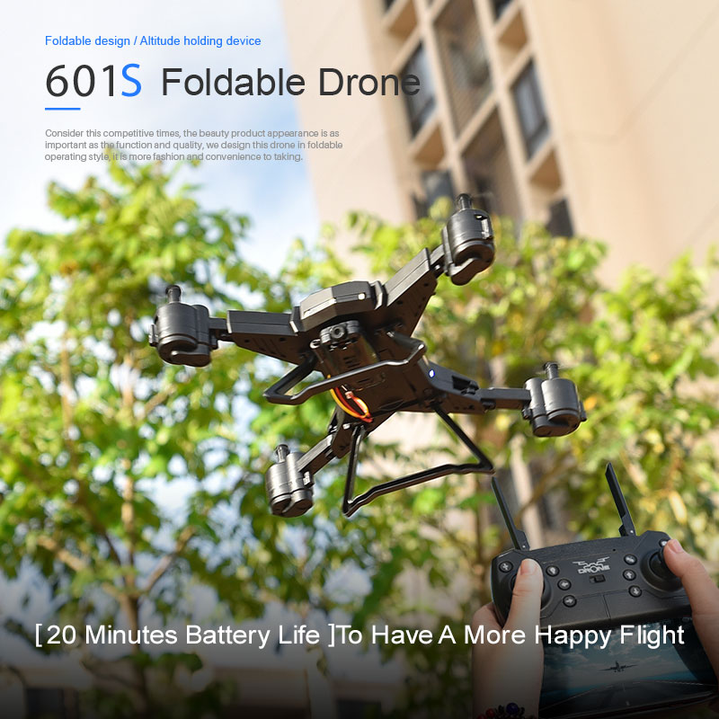 New RC Drone with Camera 4K Selfie Drones with 16MP Camera HD Foldable Quadcopter Quadrocopter with Camera Fly 18 Mins VS E58 2