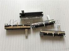 2pcs 45MM signal amplifier for Panasonic / double potentiometer A10Kx2/ B10Kx2 /A50Kx2 handle length 15MM