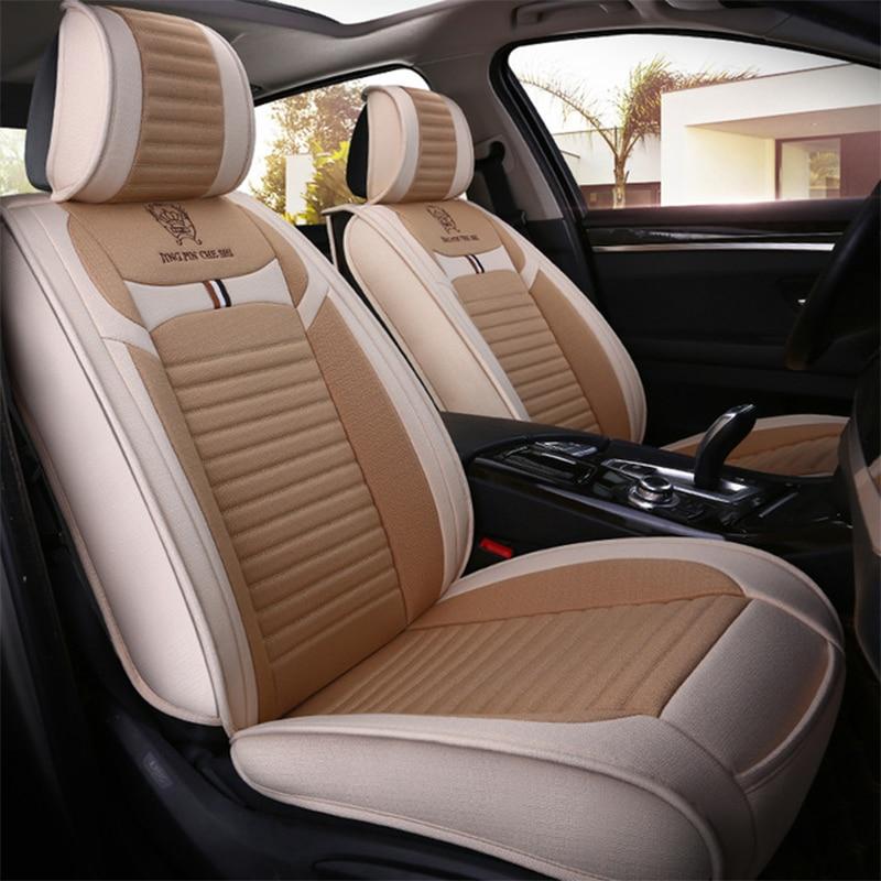 Synthetic Fibecar Car Seat Cover For Cadillac Ats Ct5 Ct6