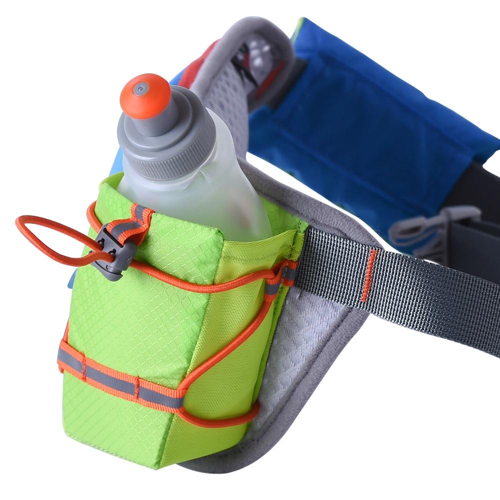 AONIJIE Women Men Running Waist Pack Lightweight Outdoor Sports Racing Hiking Gym Fitness Hydration Belt Water Bottle Hip Bag in Running Bags from Sports Entertainment