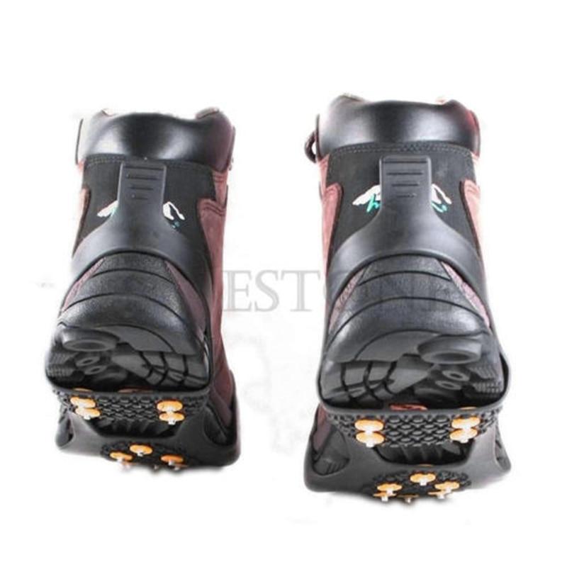 Snow Non-slip Cleats Anti-Slip Overshoes Studded Ice Traction Shoe Covers Spike New Fashion High Quality Ice Gripper 4 Size борисова а весь апрель никому не верь