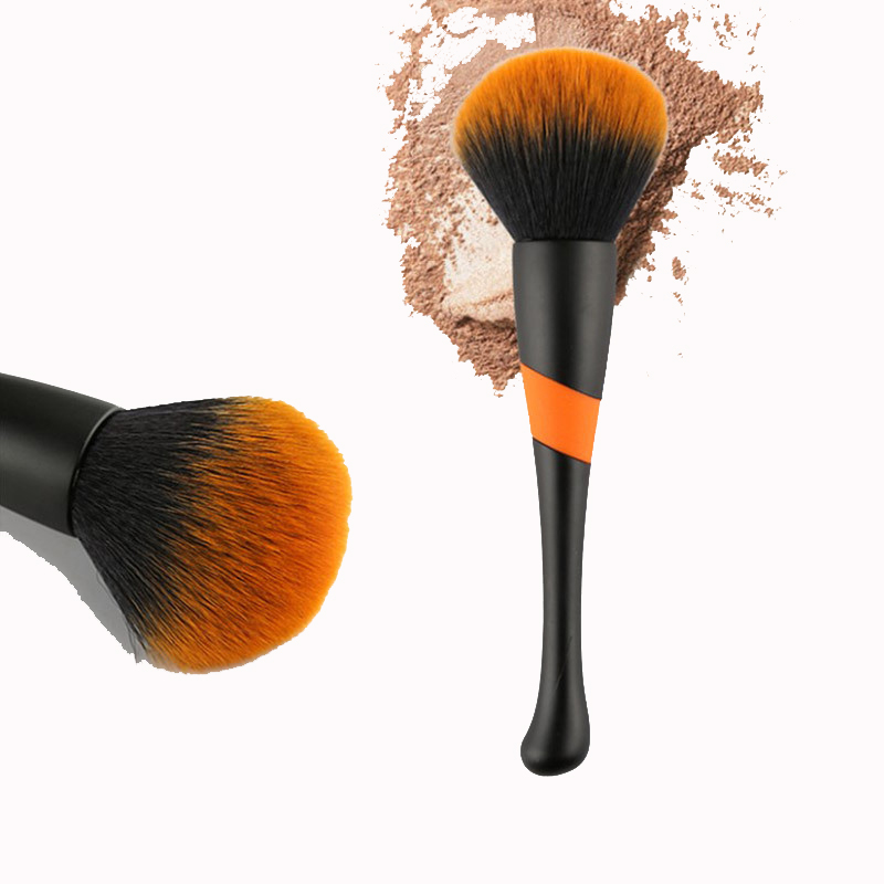 1PC Large Makeup Brushes Cream for foundation Powder brush Set Soft Synthetic Hair Blush Brush Cosmetics Brushes Make Up Tools in Eye Shadow Applicator from Beauty Health